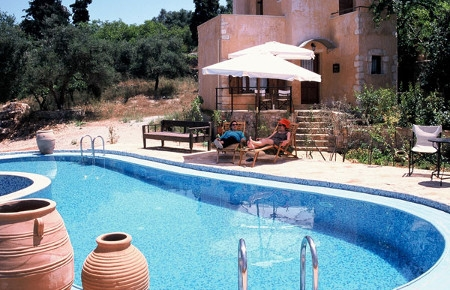 accomodation in traditional guesthouses in chania crete