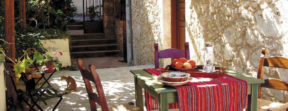 Accommodation- Guesthouses in Chania